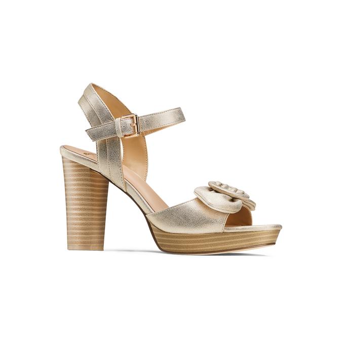 Women's shoes insolia, Jaune, 761-8175 - 13