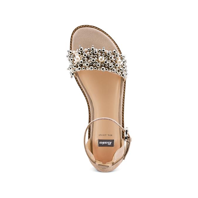 Women's shoes bata, Jaune, 569-8208 - 17