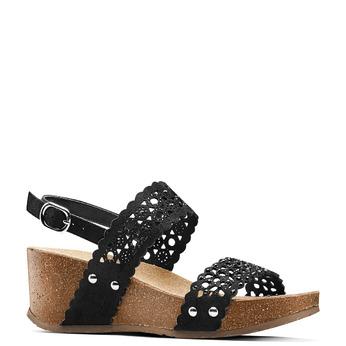 BATA Chaussures Femme bata, Noir, 669-6356 - 13