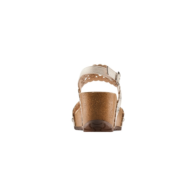 BATA Chaussures Femme bata, Jaune, 669-8356 - 15