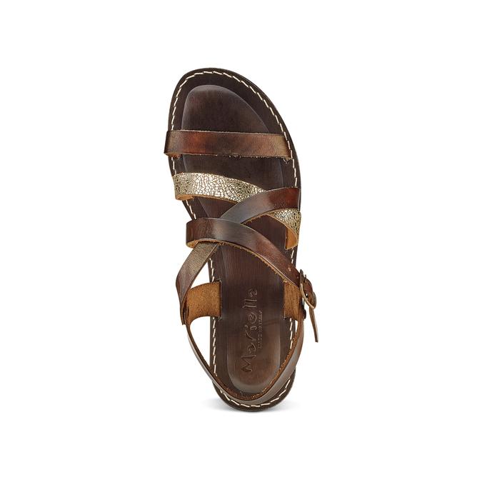 Women's shoes bata, Brun, 564-4179 - 17