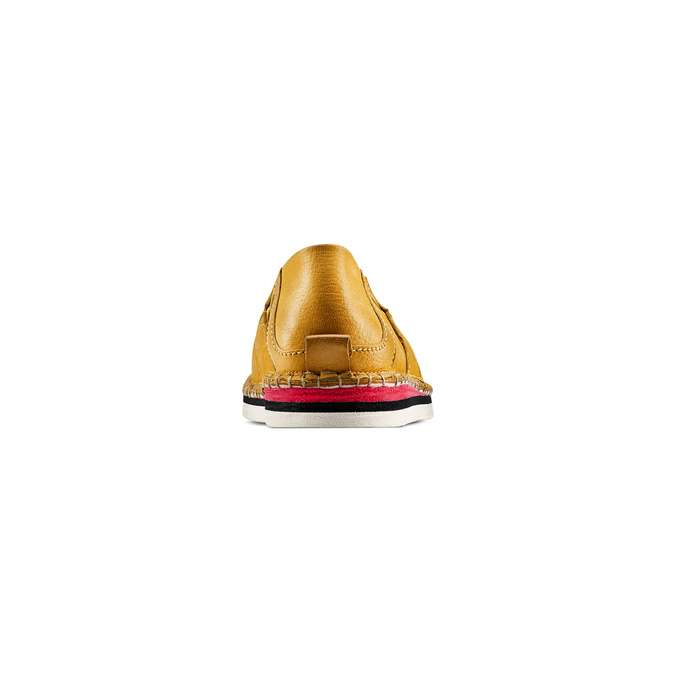 Women's shoes bata, Jaune, 514-8205 - 15