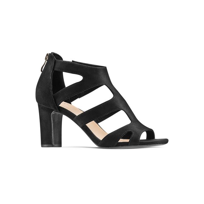 Women's shoes insolia, Noir, 729-6165 - 13