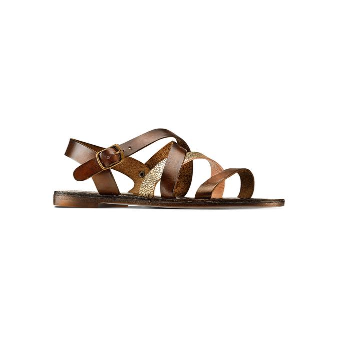 Women's shoes bata, Brun, 564-4179 - 13