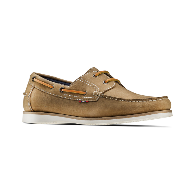 Men's shoes bata, Jaune, 854-8142 - 13