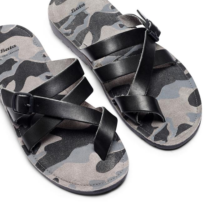 Men's shoes bata, Noir, 864-6185 - 26