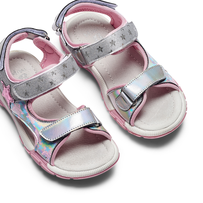 Childrens shoes mini-b, Gris, 361-2238 - 26