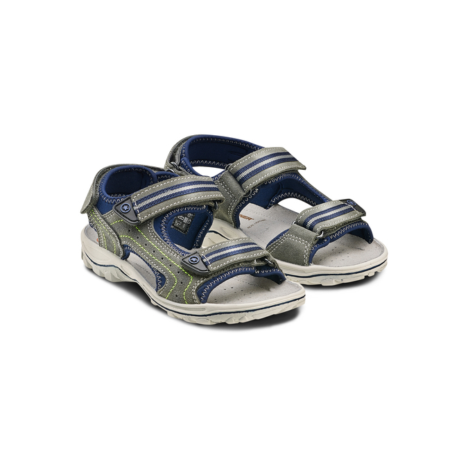 Childrens shoes weinbrenner-junior, Gris, 463-2102 - 16
