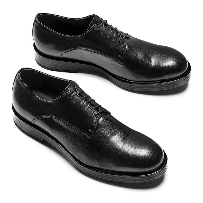 Men's shoes bata, Noir, 824-6174 - 26