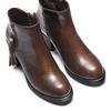 Women's shoes bata, Brun, 691-4220 - 17