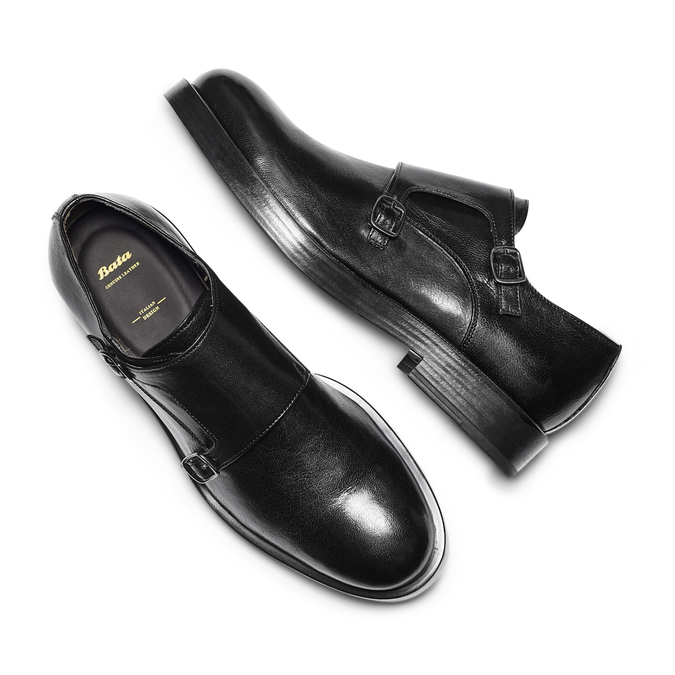 Men's shoes bata, Noir, 814-6123 - 26