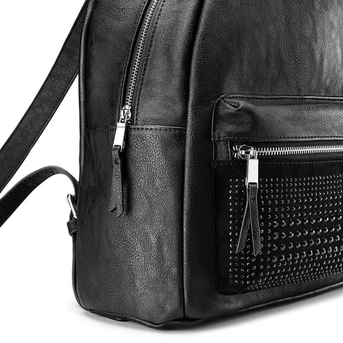 Backpack bata, Noir, 961-6496 - 15