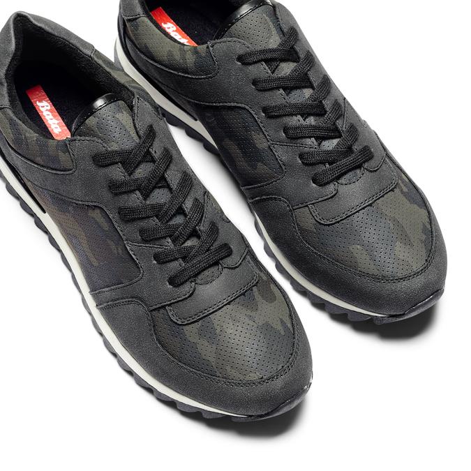 Men's shoes bata, Noir, 841-6479 - 26