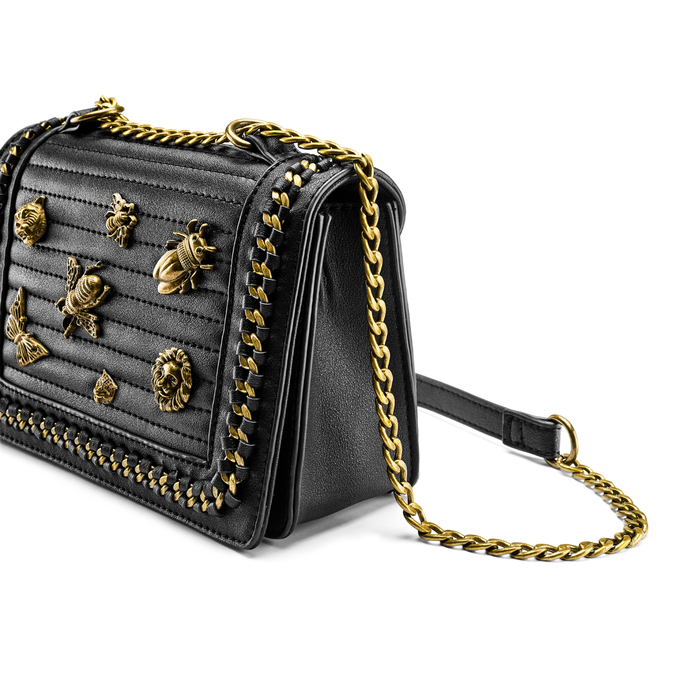 Bag bata, Noir, 961-6324 - 15