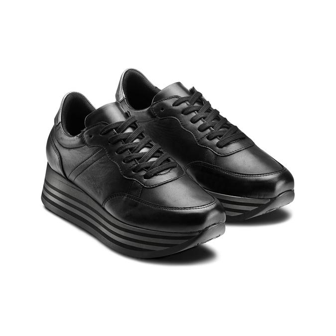 BATA Chaussures Femme bata, Noir, 644-6103 - 16