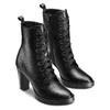 Women's shoes flexible, Noir, 794-6211 - 16