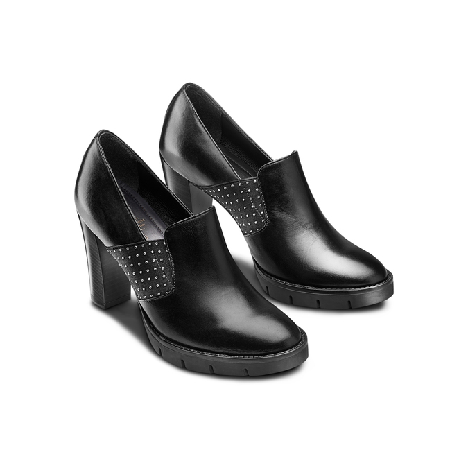 Women's shoes flexible, Noir, 724-6137 - 16