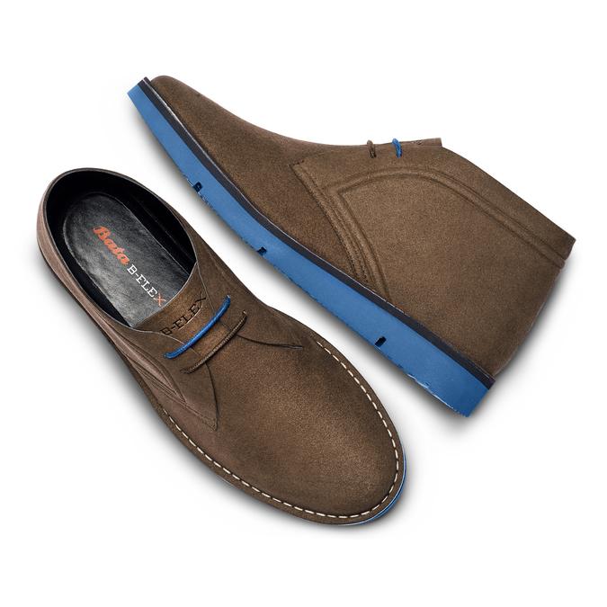 BATA B FLEX Chaussures Homme bata-b-flex, Brun, 849-4578 - 26