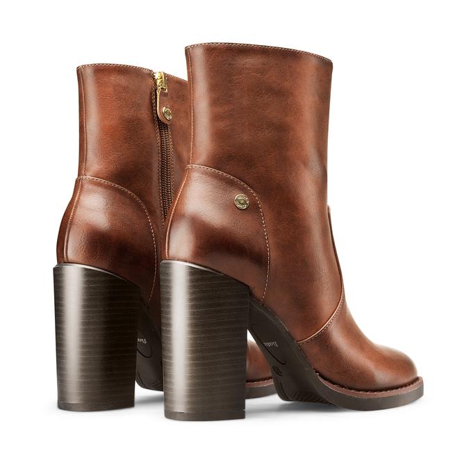 Women's shoes insolia, Jaune, 791-8258 - 26