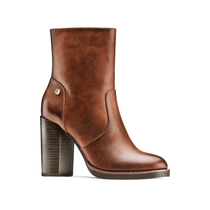 Women's shoes insolia, Jaune, 791-8258 - 13