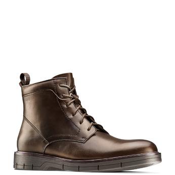 Men's shoes flexible, Brun, 894-4236 - 13