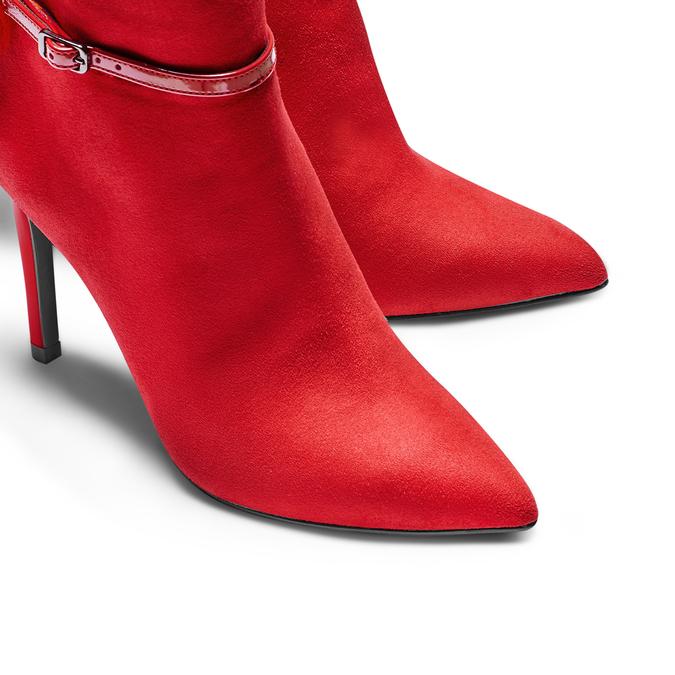 Women's shoes bata, Rouge, 799-5438 - 17