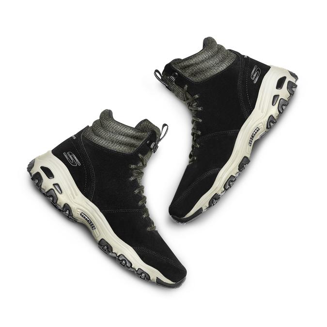 Chaussures Femme skechers, Noir, 503-6860 - 26