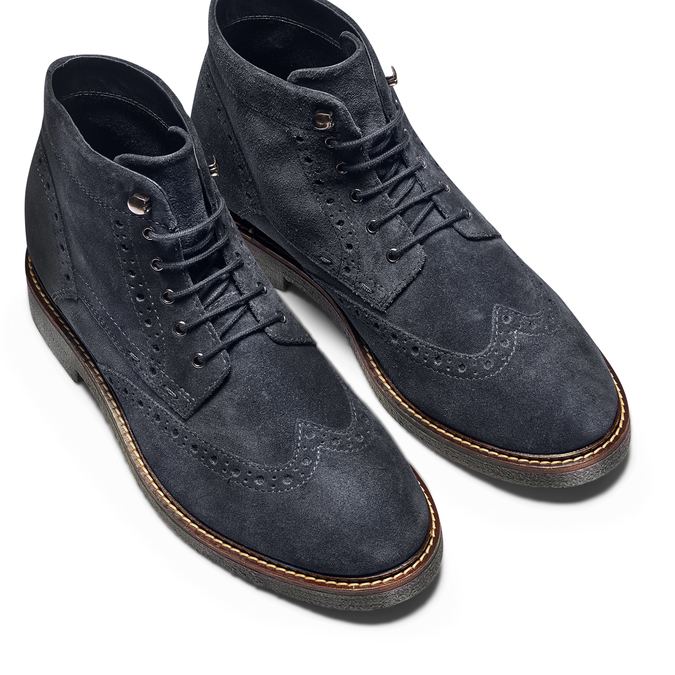 Men's shoes bata, Bleu, 823-9575 - 17