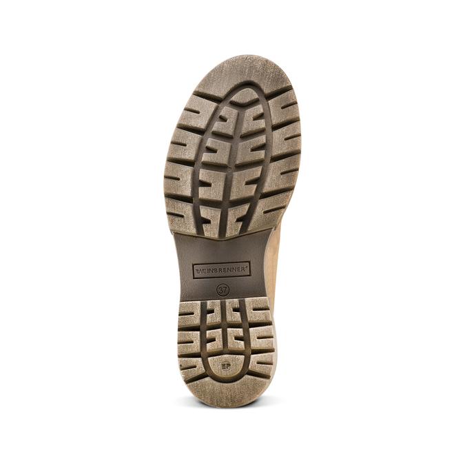 Women's shoes weinbrenner, Brun, 696-3135 - 19