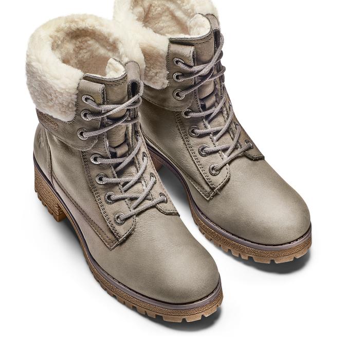 WEINBRENNER Chaussures Femme weinbrenner, Beige, 696-2207 - 17