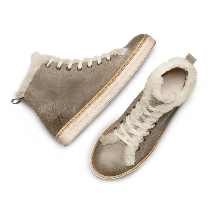 Women's shoes weinbrenner, Gris, 596-2971 - 26