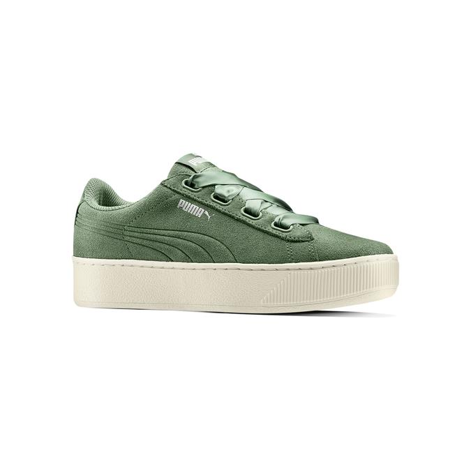 PUMA Chaussures Femme puma, Vert, 503-7237 - 13