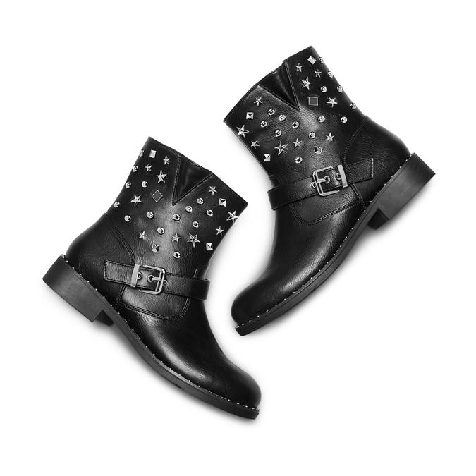 BATA Chaussures Femme bata, Noir, 591-6117 - 26
