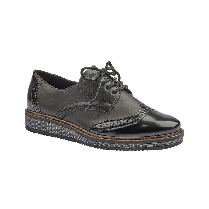 RIEKER Chaussures Femme rieker, Noir, 521-6129 - 13
