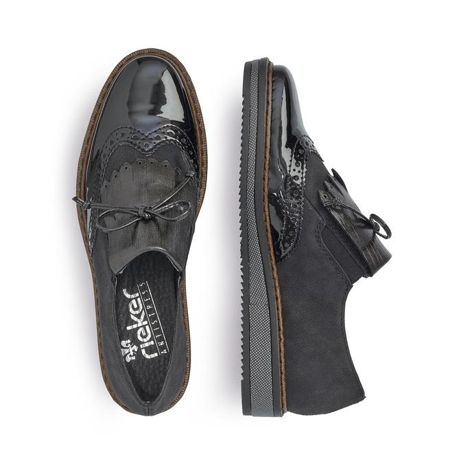 RIEKER Chaussures Femme rieker, Noir, 521-6111 - 16