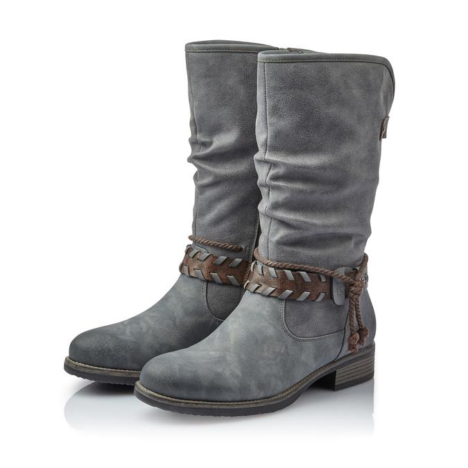 RIEKER Chaussures Femme rieker, Gris, 591-2383 - 26