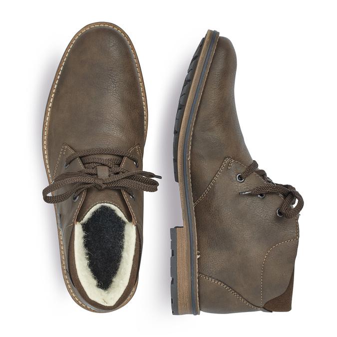 RIEKER Chaussures Homme rieker, Brun, 894-4154 - 16