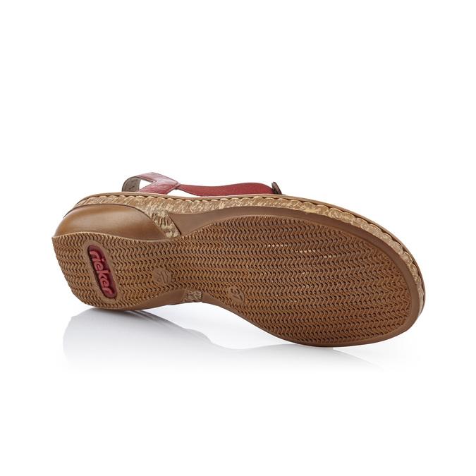 RIEKER Chaussures Femme rieker, Rouge, 661-5194 - 17