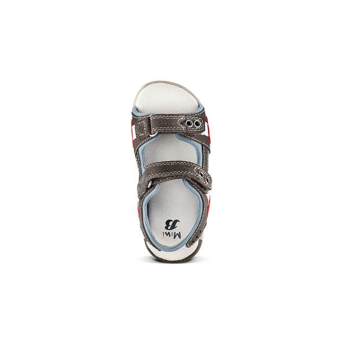 Childrens shoes mini-b, Gris, 263-2205 - 17