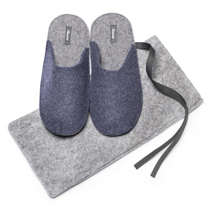 BATA  Chaussures Homme bata, Bleu, 879-9114 - 19