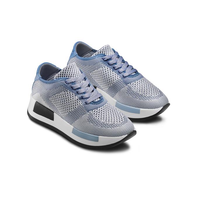 BATA Chaussures Femme bata, Bleu, 549-9438 - 16
