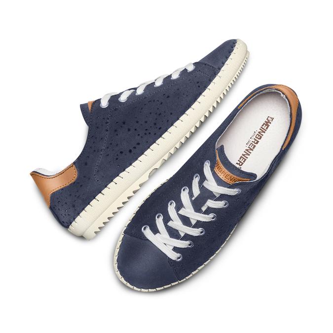 WEINBRENNER Chaussures Femme weinbrenner, Bleu, 523-9413 - 26