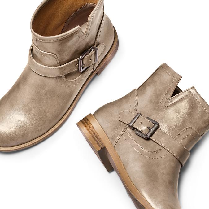 BATA Chaussures Femme bata, Beige, 591-2369 - 26
