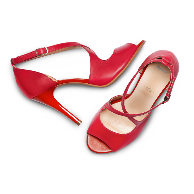 BATA Chaussures Femme bata, Rouge, 724-5368 - 26
