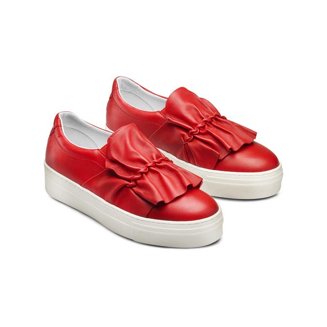 BATA Chaussures Femme bata, Rouge, 534-5138 - 16