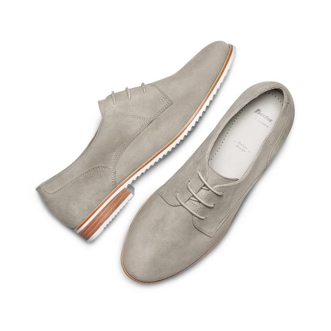 BATA Chaussures Femme bata, Gris, 523-2360 - 26