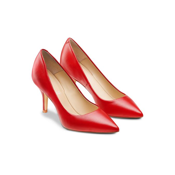 BATA Chaussures Femme bata, Rouge, 724-5371 - 16