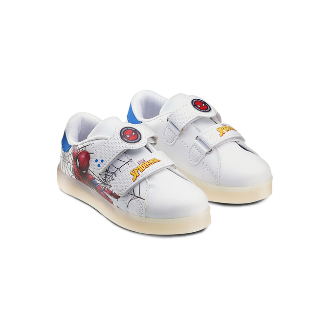 Childrens shoes spiderman, Blanc, 311-1158 - 16