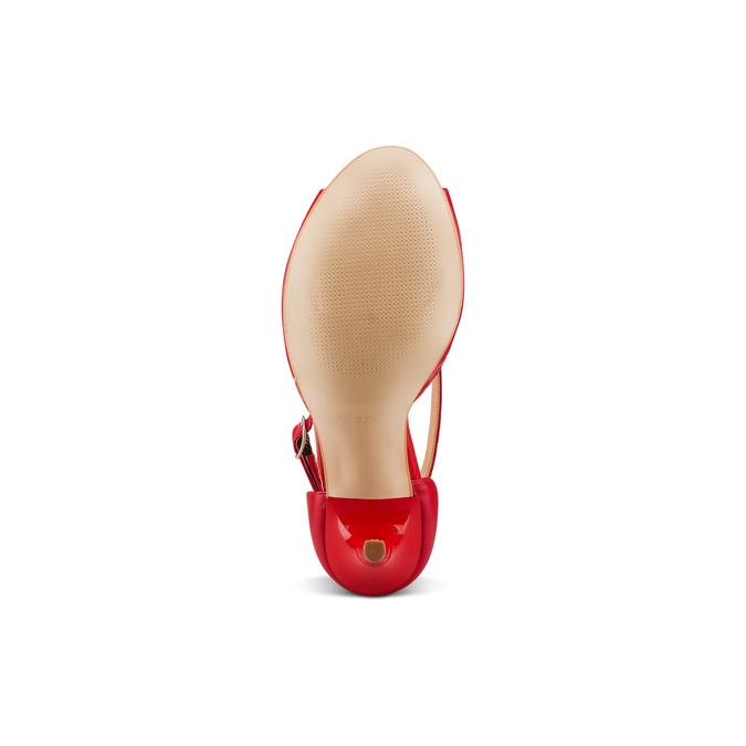 BATA Chaussures Femme bata, Rouge, 724-5368 - 19