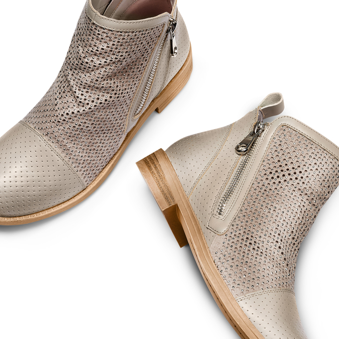 BATA Chaussures Femme bata, Beige, 591-2370 - 26